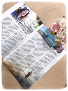 The article about Claire on Ho Chi Minh Sunday Women Magazine - Provided by the author